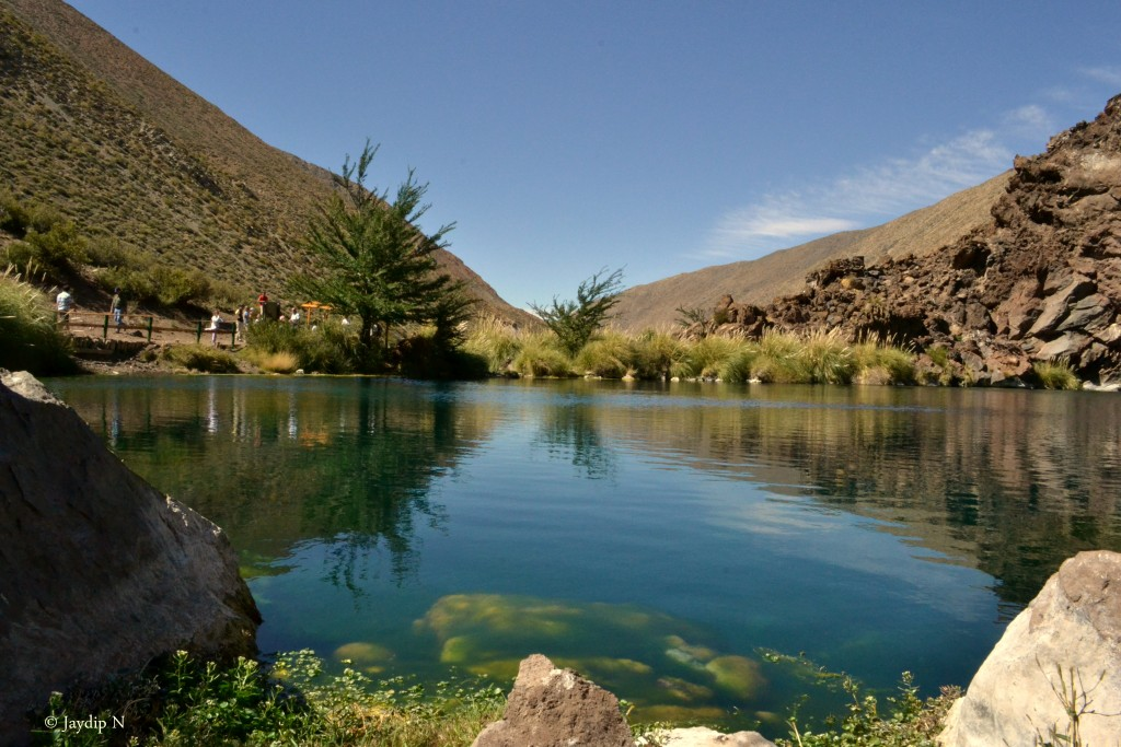 Lago hermoso - The beautiful lake of Andes