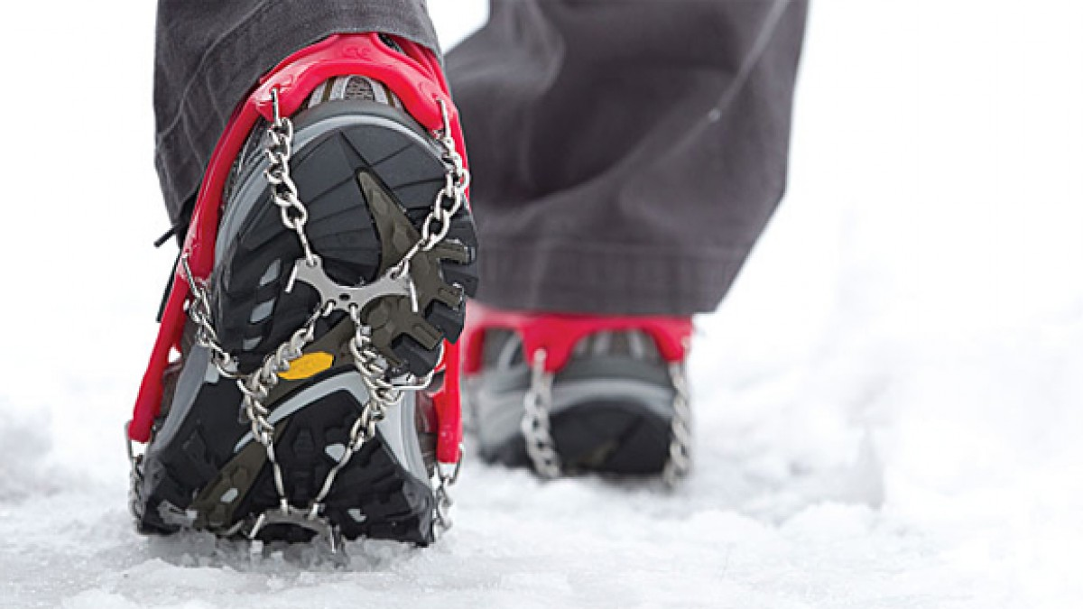 MICROspikes in action.    Photo:Kahtoola