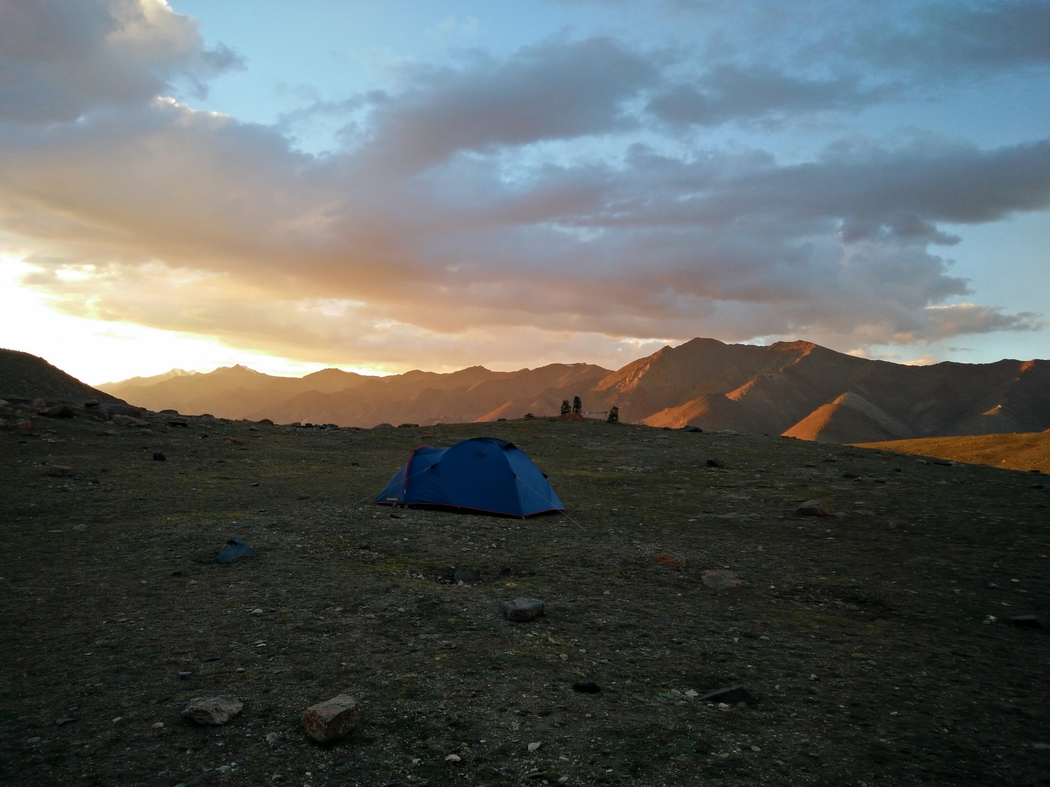 Sunset at Markha Valley