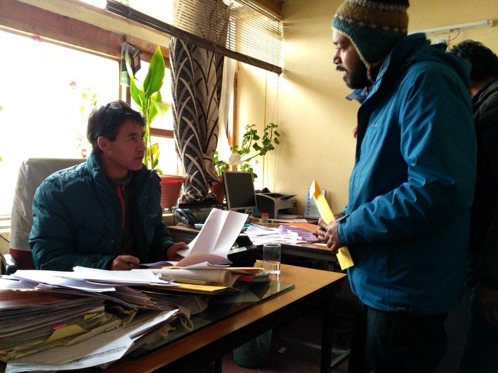 Chadar Trek environmental proposal to LADHC
