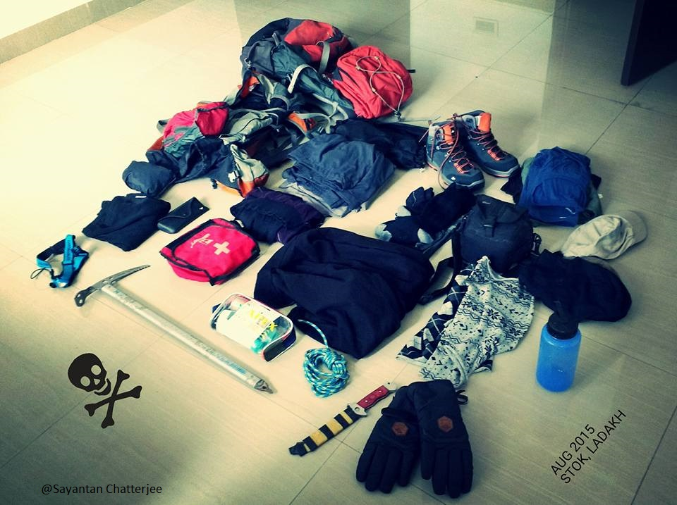 Himalayan trek Packing list