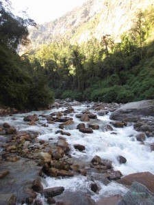 Pristine Talung gorge serves as a route