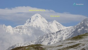 Peaks from Nandadevi sanctuary to the East-south-east