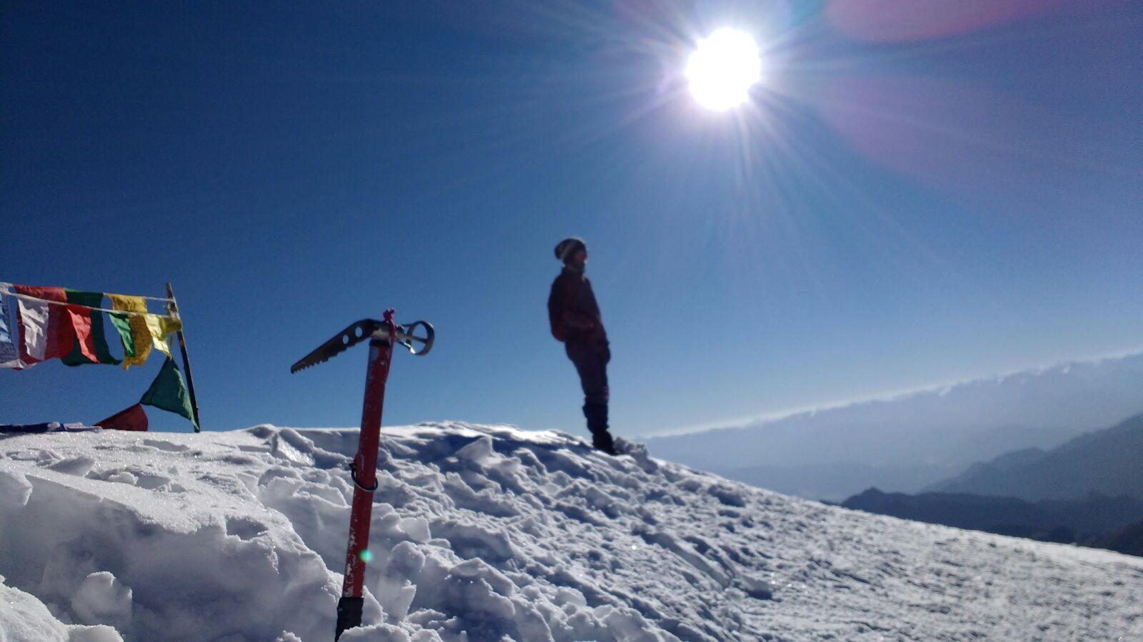 Stok Kangri trek Summit