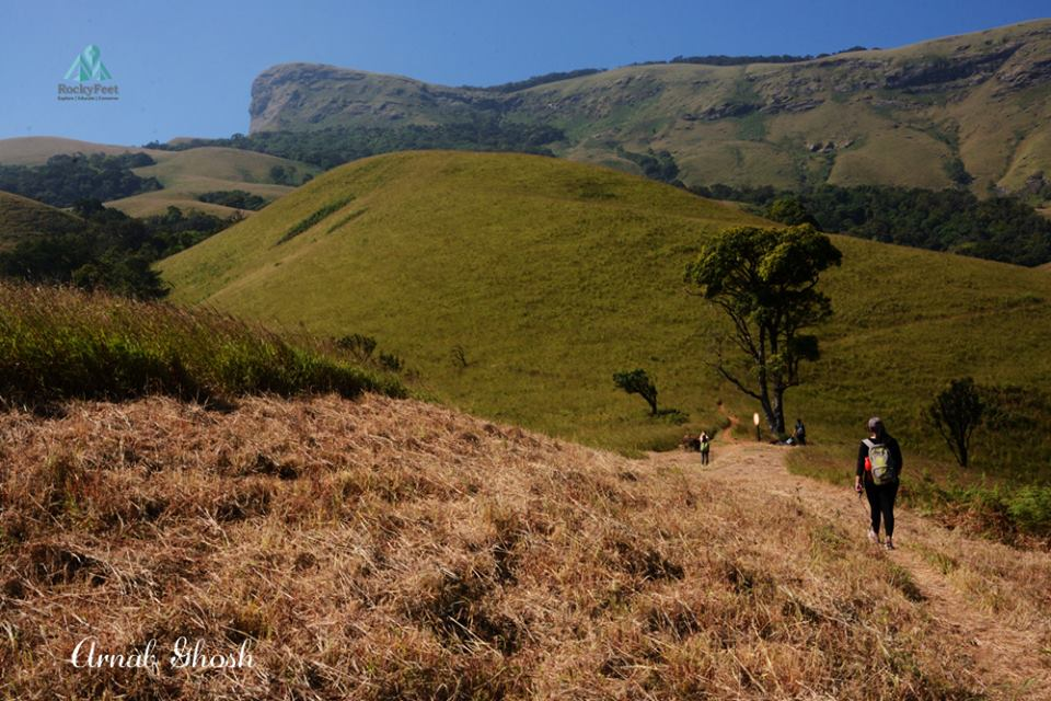 Kudremukh way up