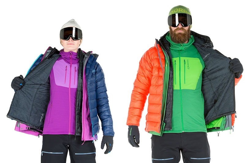 How to combat cold in Himalayan treks? The concept of layering clothes