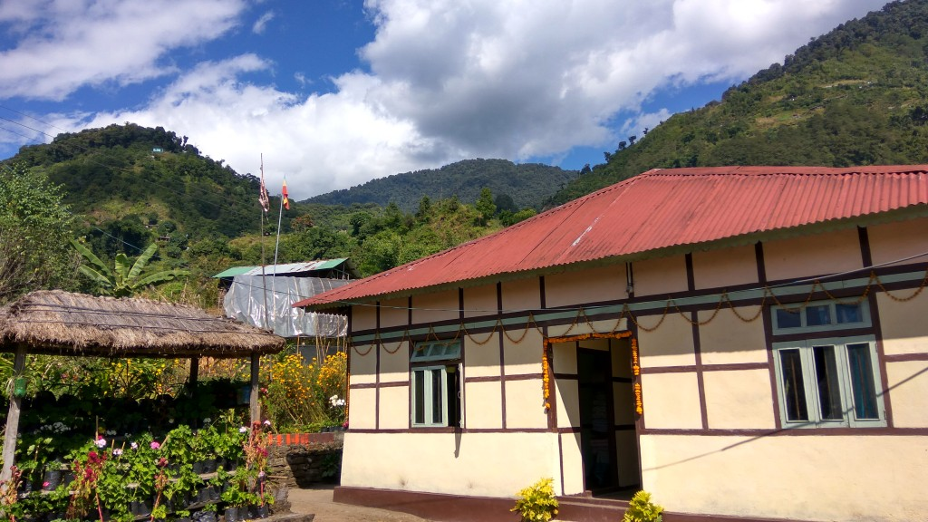 The home of the Chhetris where i stayed for 5 long and sunny days